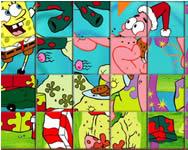 Christmas Spongebob spin n set Spongyabob játékok ingyen