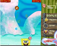 Sponge Bob deep sea smashout online Spongyabob játék