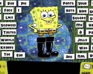 Sponge Bob squeky boot blurbs játékok ingyen