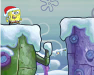 Sponge Bob winter runderland Spongyabob játékok