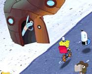 Sponge bob's pizza toss online Spongyabob játék