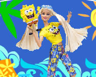 Spongebob Barbie Loves online Spongyabob jtk