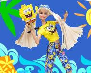 Spongebob Barbie Loves online Spongyabob játék
