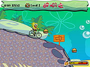 Spongebob bike ride j�t�k