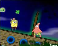 Spongebob ghostly gold grab Spongyabob játékok ingyen