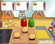 Spongebob krabby patty dash Spongyabob játékok