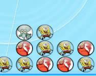 Spongebob matching balls online játék