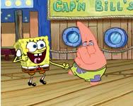 Spongebob reef rumble játékok ingyen