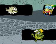 Spongebob Sea monster ingyenes jtk