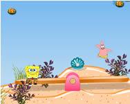 Spongebob seesaw mania Spongyabob játékok
