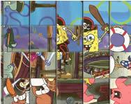 Spongebob spin n set Spongyabob játékok ingyen