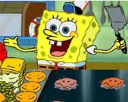 Spongebob SquarePants Flip or Flop Spongyabob játékok ingyen