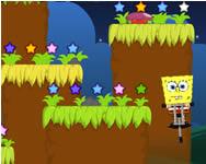 Spongebob super jump Spongyabob játékok ingyen