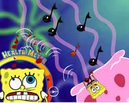 Spongebob trouble chef online játék