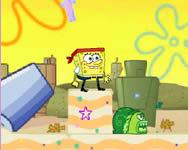 Spongyabob Dutchmans dash Spongyabob játékok