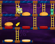 Spongyabob Patty panic ingyenes játék