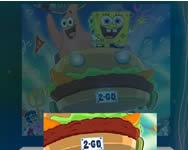 Tiles builder Spongebob Spongyabob játékok ingyen